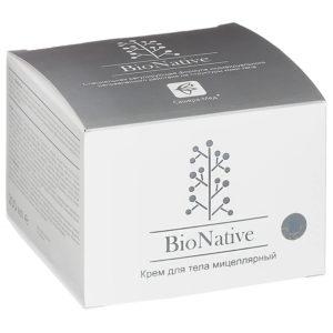 «BioNative» Мицеллярный крем для тела